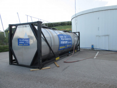 33.000l Tankcontainer Wassertank Wartungstank